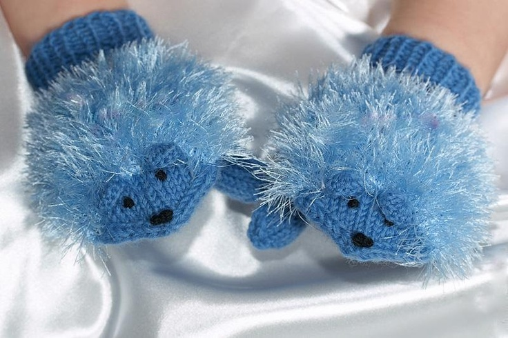 Christmas gift-Children Holiday Clothing-Cute hedgehog gloves for children-children clothing-Sale. $29.00, via Etsy.