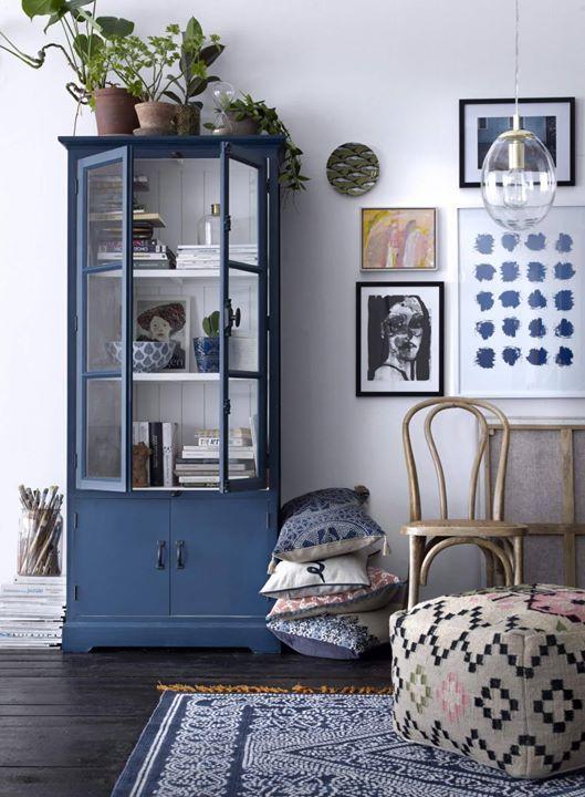 #DEMODA colores azules verdes y grises siempre presentes en los ambientes nórdicos con líneas rectas