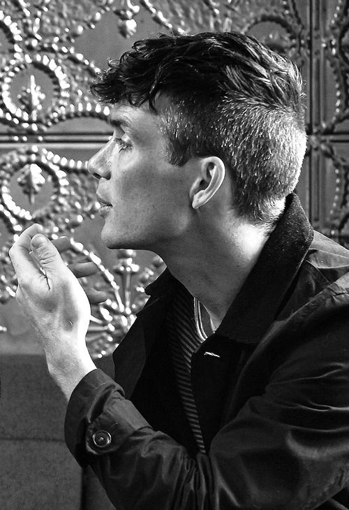 Cillian Murphy and his fabulous hair. If this became a trend, I would not be sad!