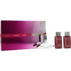 Euphoria By Calvin Klein 3ps Gift Set for Women: 3.4oz Edp Spray + 3.4oz Sensual Skin Lotion + 3.4oz Bath & Shower Cream. by EUPHORIA by Calvin Klein 3 ps Gift Set For Women.. $89.99. 3.4oz Sensual Skin Lotion. 3.4oz Sensual bath and Shower Gel. 3.4oz Edp Spray. Euphoria By Calvin Klein 3ps Gift Set for Women: 3.4oz Edp Spray + 3.4oz Sensual Skin Lotion + 3.4oz Sensual bath and Shower Gel - Great Gift Set!!
