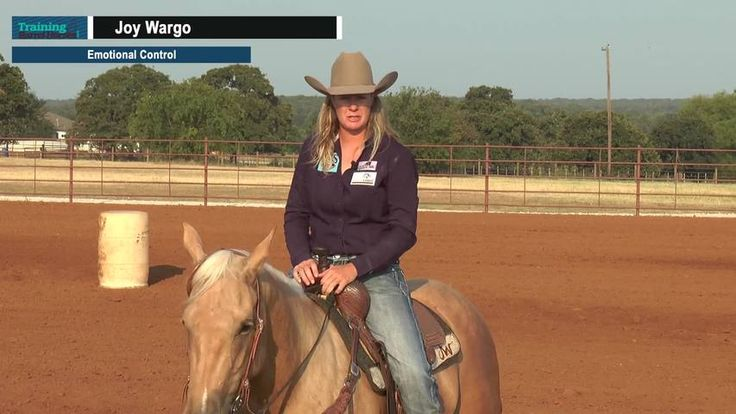 Emotional Control - Joy Wargo talks about how to stay in control emotionally when running barrels. |  Barrel Horse News