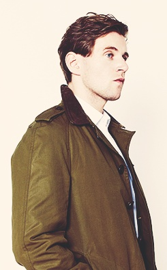 Allen Leech before filming Downton Abbey.... I honestly think I like anyone who is not American...