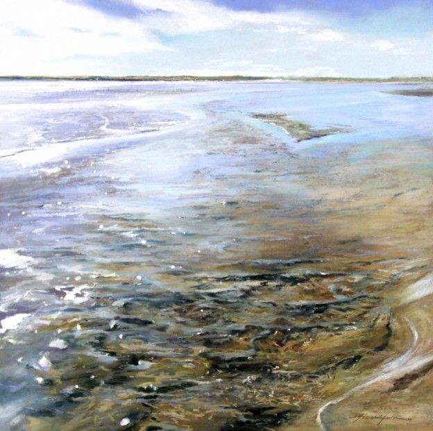 Fiona Haldane, Changing Tides, Lunan Bay, Pastel | Scottish Contemporary Art