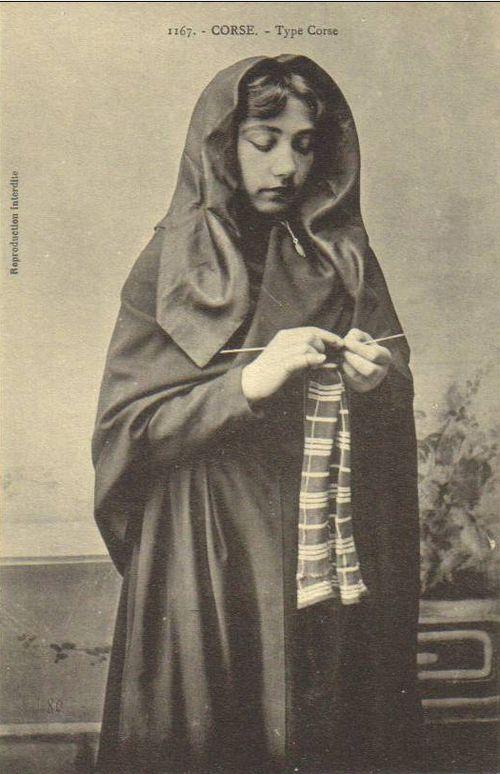 corsican women