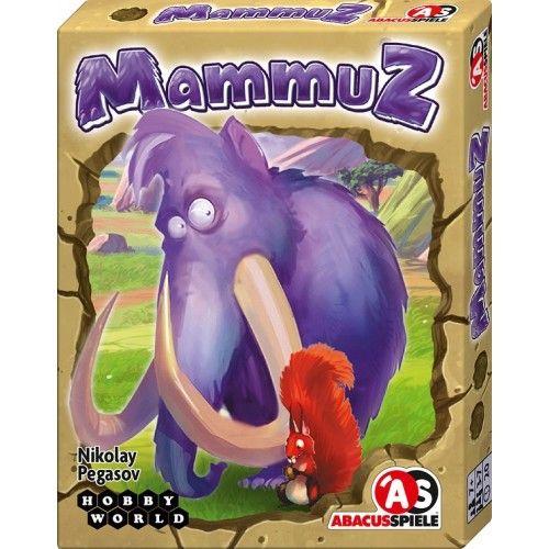 MammuZ vidám, pörgős, blöffölős kártyajáték 7 éves kortól - Abacus Spiele