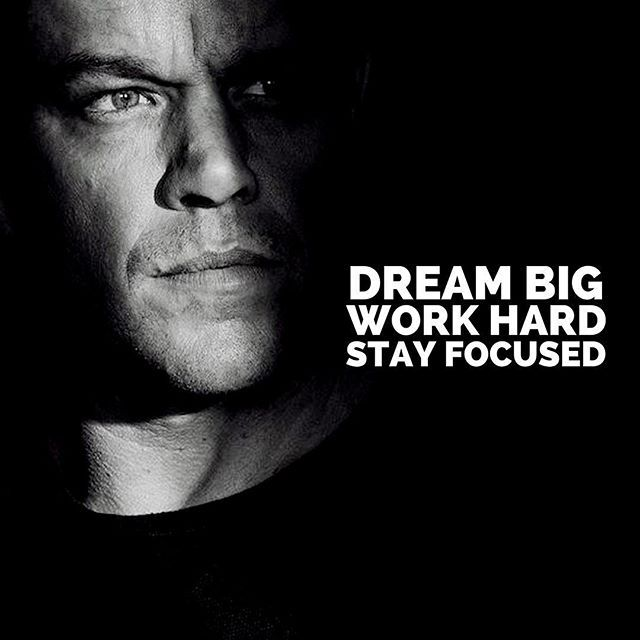 Dream Big. Work Hard. Stay Focused. The 3 Crucial Steps to Success in Life. #dreambig #workhard #stayfocused #successinlife #inspireothers #motivateyourself