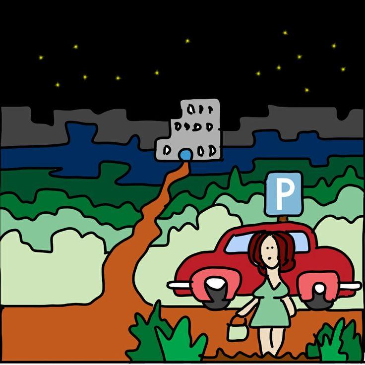 Bij ons kunnen vrouwen veilig parkeren?!
