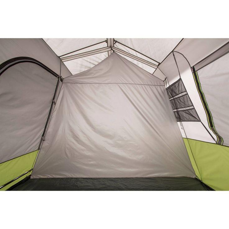 Ozark Trail 9 Person 2 Room Instant Cabin Tent With Screen Room Walmart Com In 2021 Cabin Tent Ozark Tent