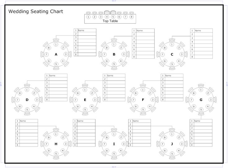Best  Wedding Seating Plan Template Ideas On
