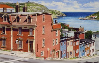 Newfoundland Art - Terence Crawford