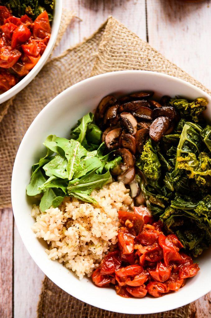 Comforting and Cozy Fall Power Bowl | vegan, gluten-free