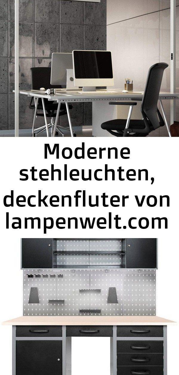 Weisse Led Office Stehlampe Jolinda Dimmbar Von Lampenwelt Com Werkstatt Set Harry Mit Led Touch Lampen Inkl Hakenset Diy Lampe Home Decor Decor Furniture