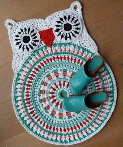 Crochet Owl Rug Pattern: Best 25+ Crochet Owls Ideas On Pinterest