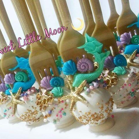 Mermaid Cake Pops #dinglehoppercakepops #dinglehopper #littlemermaid #mermaidtheme #onederthesea #underthesea #cakepops #mermaidcakepops #mermaid #mermaidtail #mermaidtailcakepops
