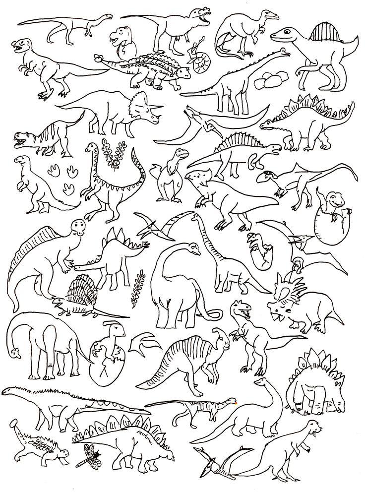 Best 20+ Dinosaur illustration ideas on Pinterest—no