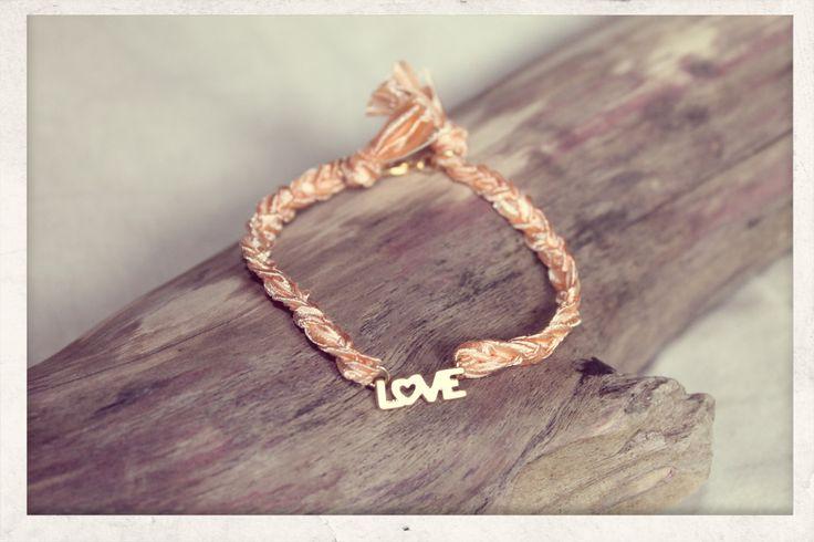 Braided with Love - peach!