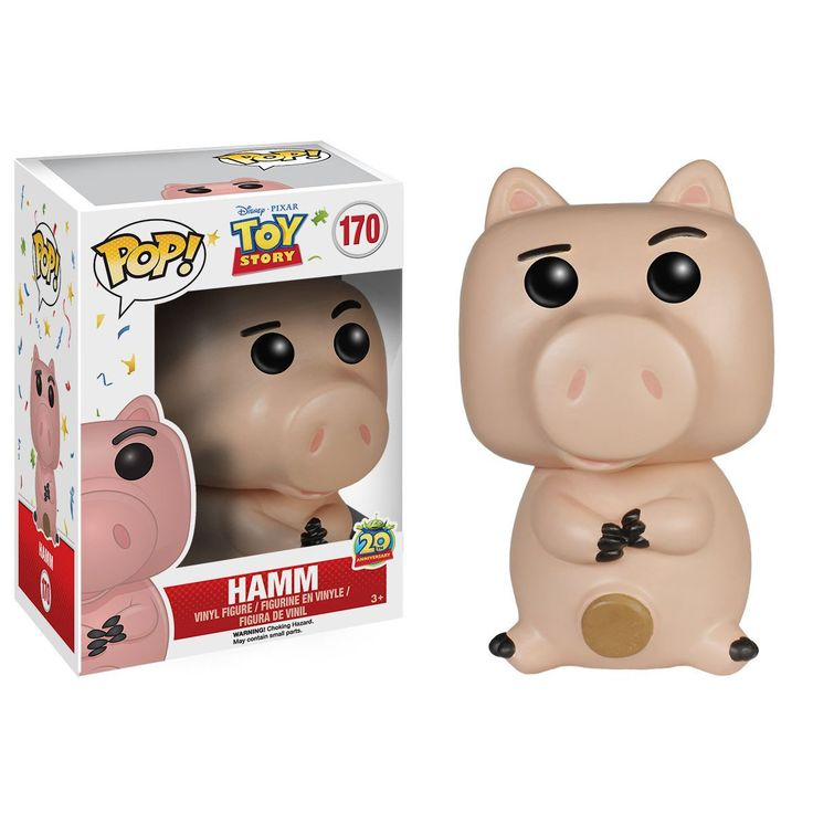 Disney Toy Story POP Hamm Vinyl Figure