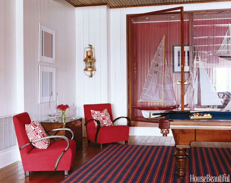 Suzanne Kasler Interiors Shows How To Nail with Modern Chairs