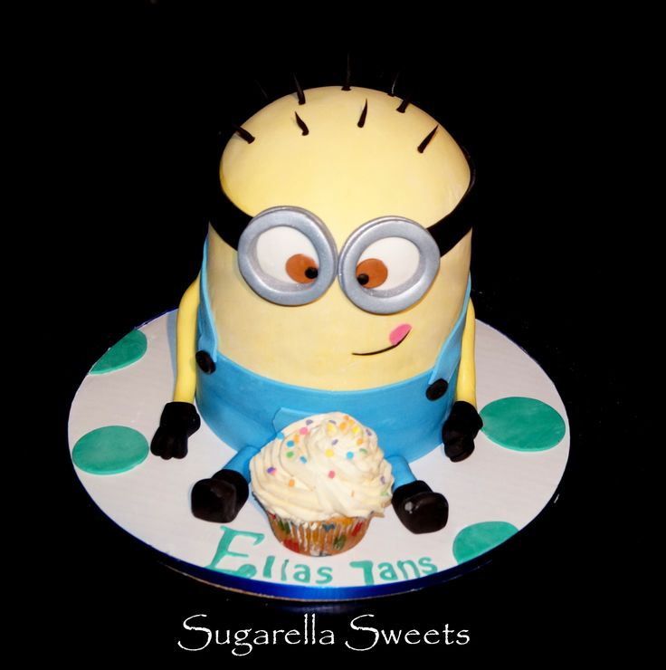 Amazing Despicable Minion 3d Fondant Cake Perfect For Any
