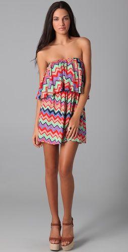 TBags zigzag dress