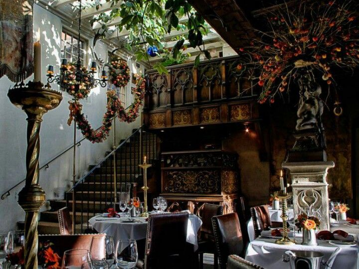 The secret garden at the witchery by the castle, Edinburgh restaurant If you are going to Edinburgh you have to make reservations here. It is spectacular!