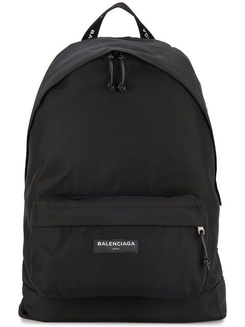 42e84e29ceb9 BALENCIAGA nylon logo backpack.  balenciaga  bags  nylon  backpacks  cotton