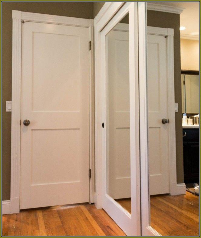 Mirror Bifold Closet Doors Lowes Bifold Closet Doors Mirrored