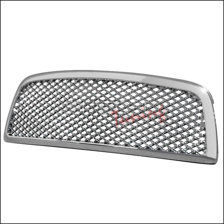 Spec-D 09-12 Ram 1500 mesh grille, chrome