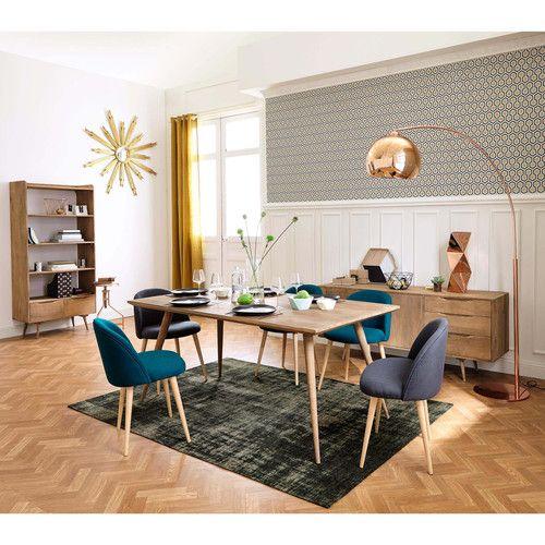 Table de salle à manger en manguier massif L 175 cm