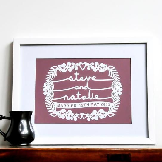 Creative Engagement Gift Ideas from Etsy | StyleCaster