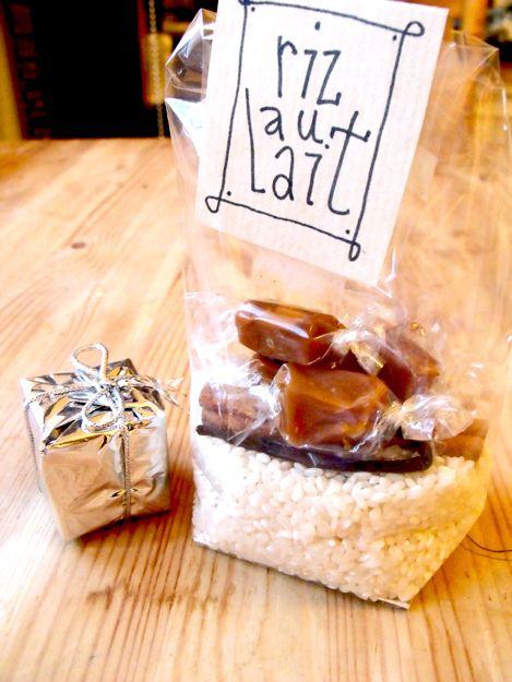 Recette de cadeaux pour Noël : le kit de riz au lait rizaulait http://www.madmoizelle.com/recette-kit-de-riz-au-lait-76588