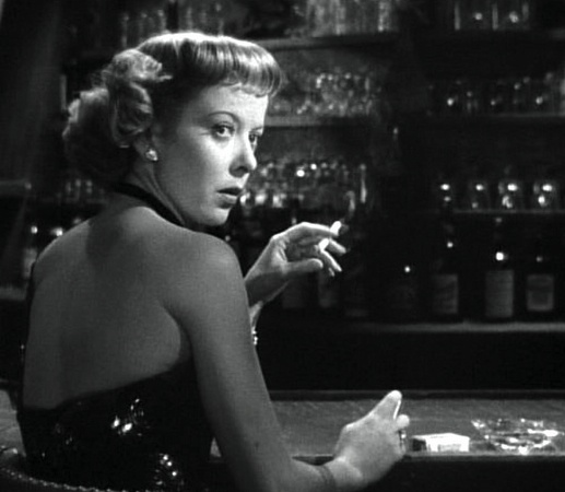 Film noir: chiaroscuro lighting, expressionistic staging, and hard-boiled stories set deep in the underworld