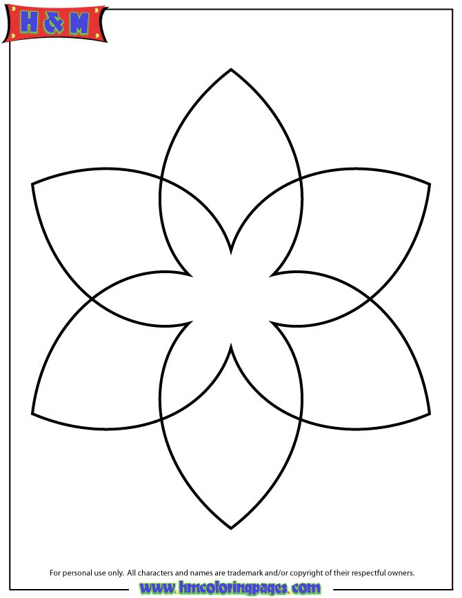 Simple Mandala Patterns | Simple Mandala Coloring Page For Kids