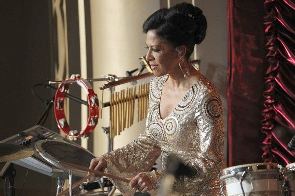 I remember Sheila E from back when she was in Prince's movie Purple Rain. She was one of the first female percussionists I remember seeing. She played perussion at the Oscars!