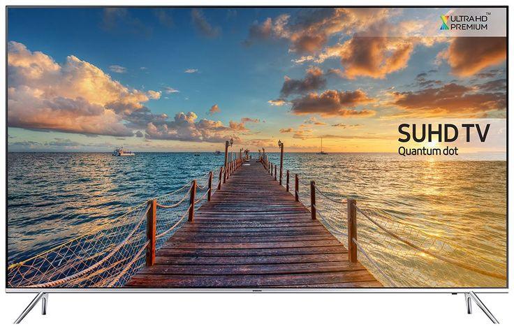 """Samsung UE55KS7000  Description: Samsung UE55KS7000: 55"""" SUHD LED tv met Quantum Dot Display Op het 55"""" Super Ultra HD scherm van de Samsung UE55KS7000 geniet jij van levendige kleuren vol intensiteit. Het Quantum Dot Display zorgt voor kleuren die nog nooit eerder zijn vertoond op een tv! Diep contrast en intens zwart worden gecreëerd dankzij Precision Black Pro waarna de accenten gelegd worden door de Peak Illuminator Pro technologie. Je zou denken dat is voldoende voor een tv in 2016…"""