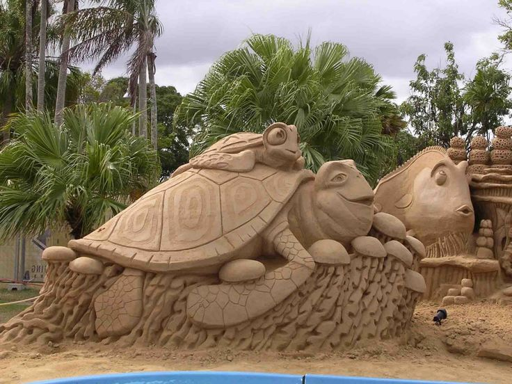 sand scupltures | sand sculptures a collection of some of the coolest sand sculptures ...