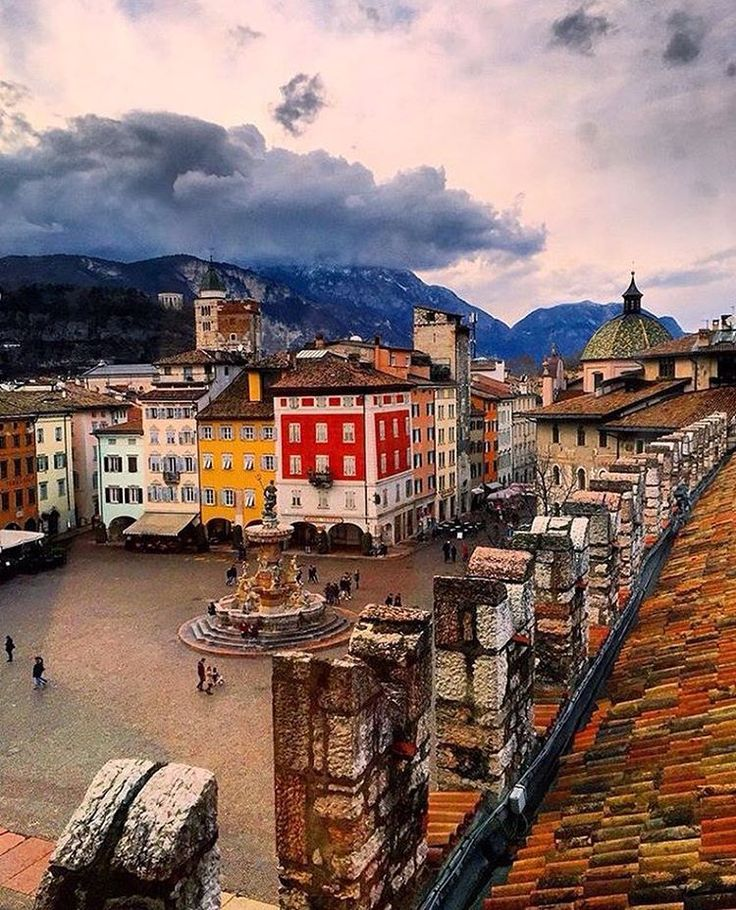 "1,689 Likes, 46 Comments - Mark (@emmebi420) on Instagram: ""Volano town 🏘 #Trentino"""
