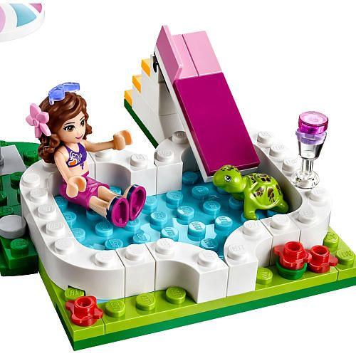 60 best images about lego pools on pinterest beijing for Lego friends olivia s garden pool 41090