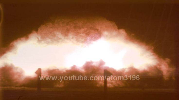 HD 原爆投下実験の貴重な資料映像 核実験 Operation Buster–Jangle  Sugar Shot