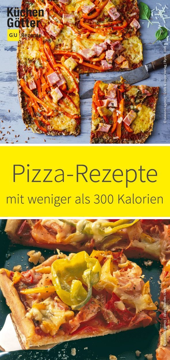 Alle lieben #Pizza! Und selbst wenn du auf eine kalorienarme Ernährung achtest,…