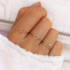 Escute seu coração, ele bate por este anel … # neste # es # por …   – Schmuck