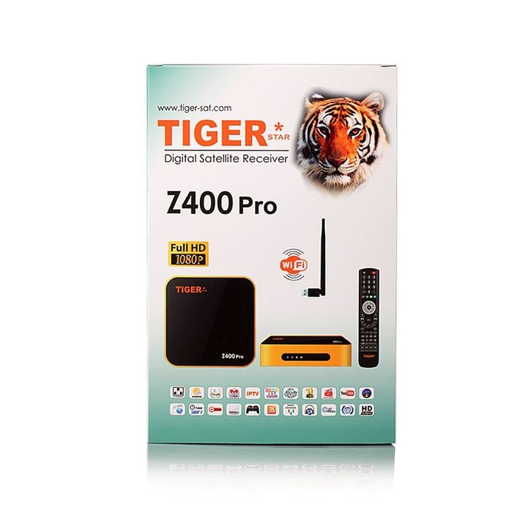 Satellite Receiver Top Box  Free One Year IPTV  Channels LAN WIFI AIR TV Z400Pro #HPPFOTRS