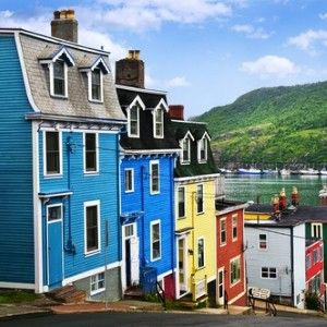 St Johns, Newfoundland, Canada. Visited St Johns in Newfoundland, Canada while on New England Brews Cruise with JF in 2010