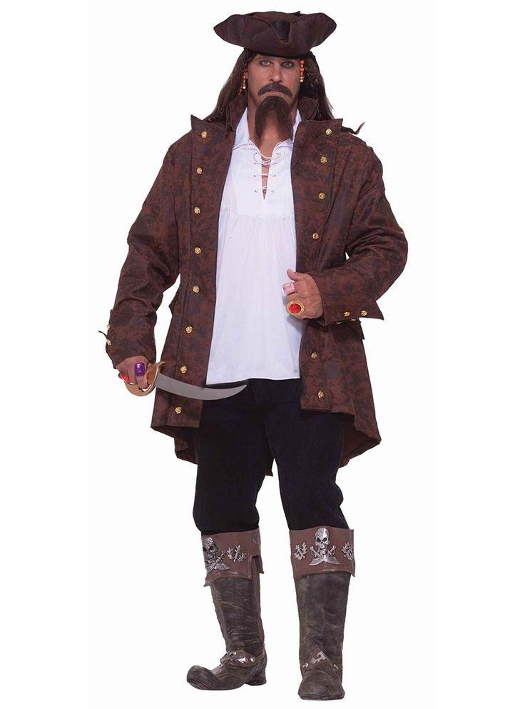 Traje de capitán pirata talla XXL | Comprar online
