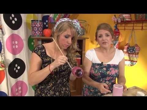 KnutselTV - knutselen met lege potten - YouTube