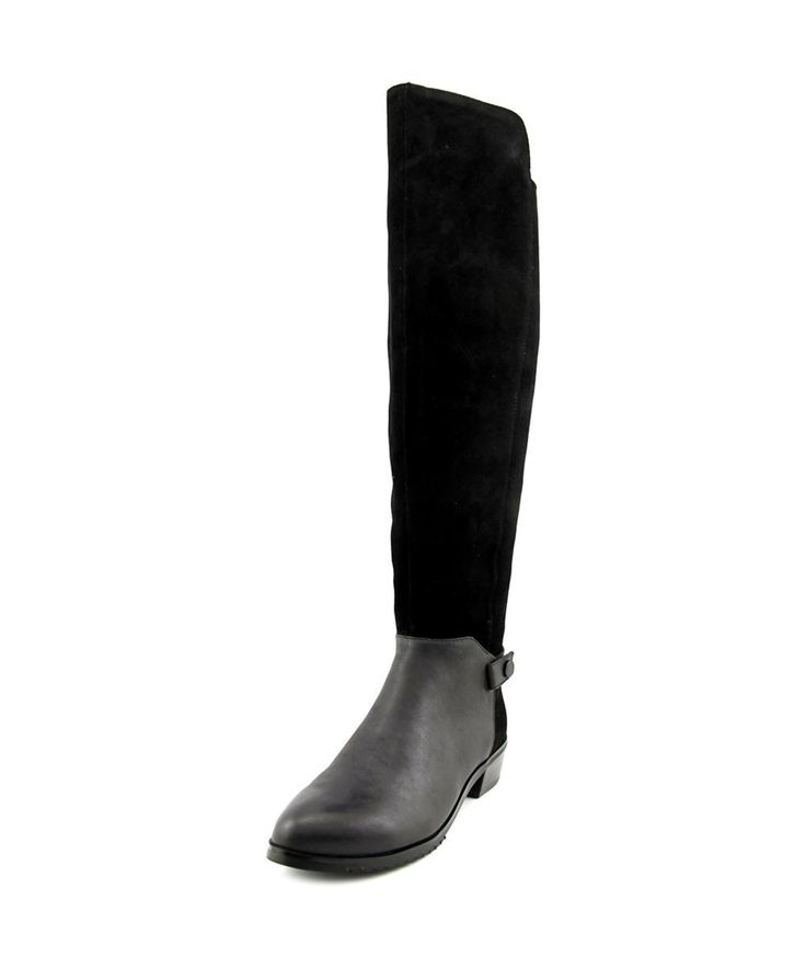 KELSI DAGGER | Kelsi Dagger Vlad Women  Round Toe Suede Black Over The Knee Boot #Shoes #Boots & Booties #KELSI DAGGER