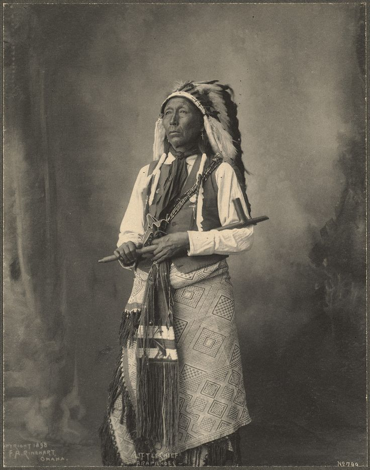Little Chief, Arapaho. Frank A. Rinehart photography, 1898