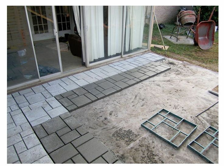 NEW DIY Quikrete 6921 34 Walk Maker Patio, Courtyard Terrace Concrete Form