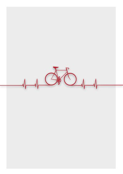 Bike Beat Canvas Print by Emma J. Hardy
