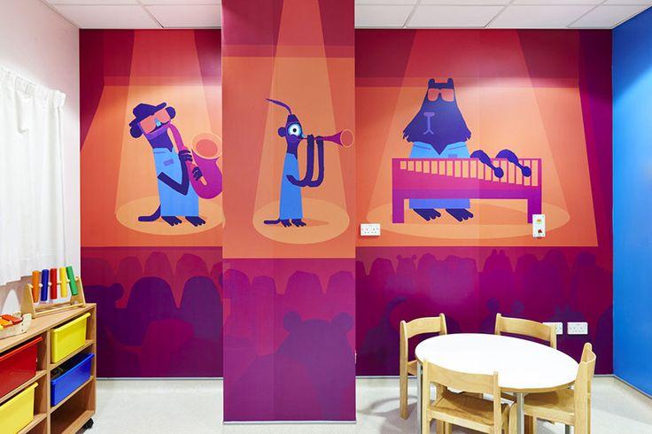 15 artistes se réunissent pour décorer un hôpital pour enfants